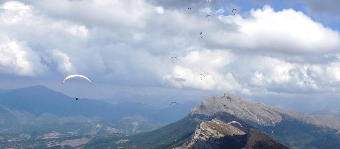 TRANS'ALPS : manche 2/4 – Saint André les Alpes